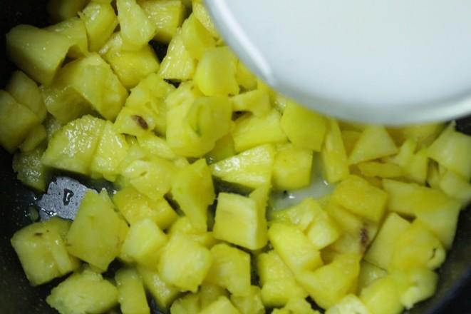 不用开酥快手的——香甜菠萝派的家常做法