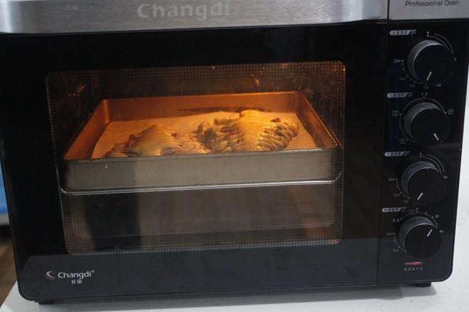 圣诞树面包的制作