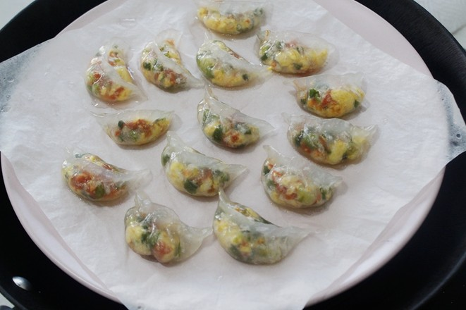 鸡蛋水晶饺怎样炖