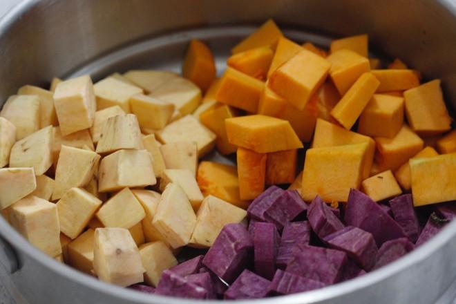 牛奶红豆芋圆的做法大全