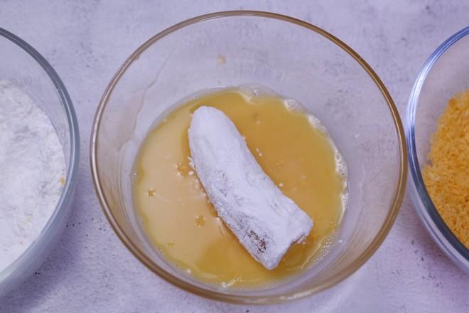脆皮香蕉的家常做法