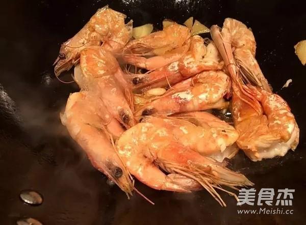 红焖大虾的家常做法