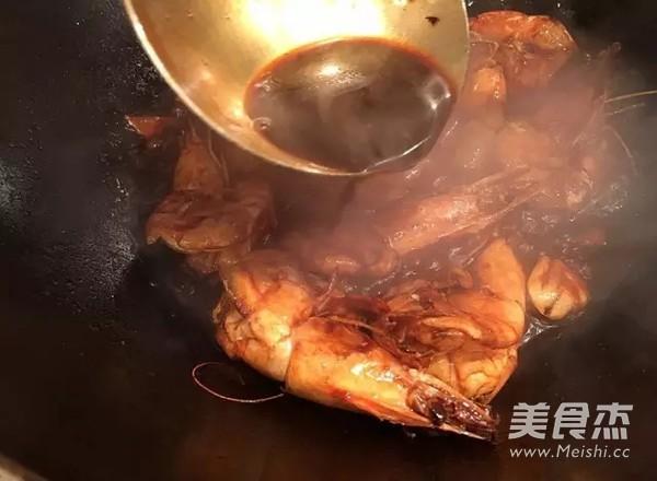 红焖大虾怎么煸