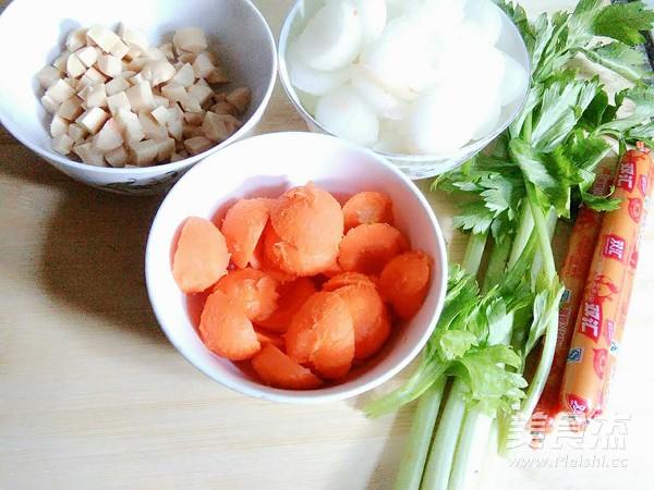 红烧冬瓜胡萝卜球的做法图解