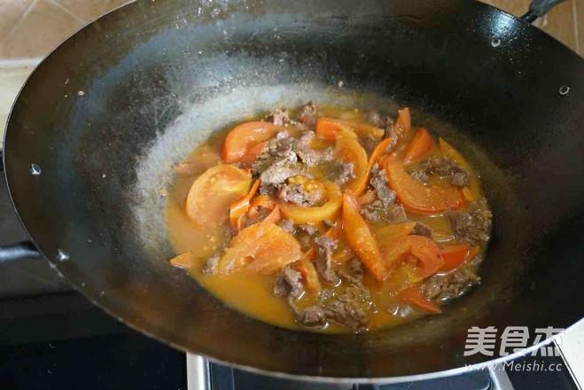 番茄牛肉怎么煮