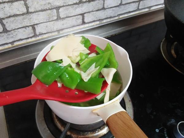 尖椒炒豆皮怎么炒