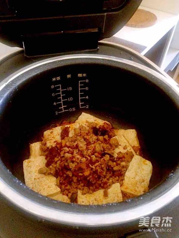 肉末蒸豆腐怎么炒