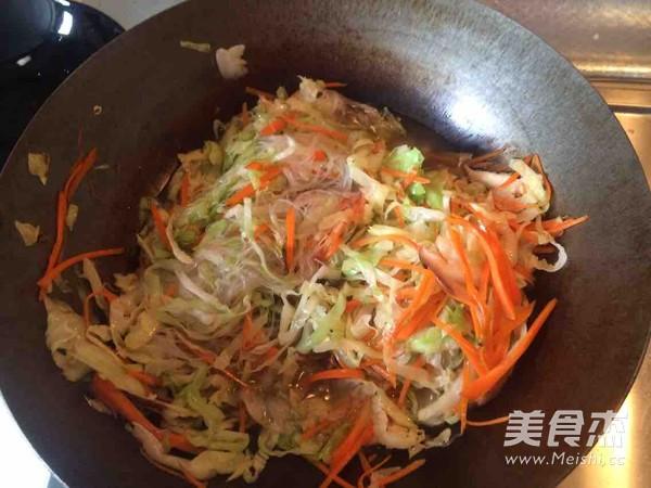 小炒粉丝圆白菜怎么做
