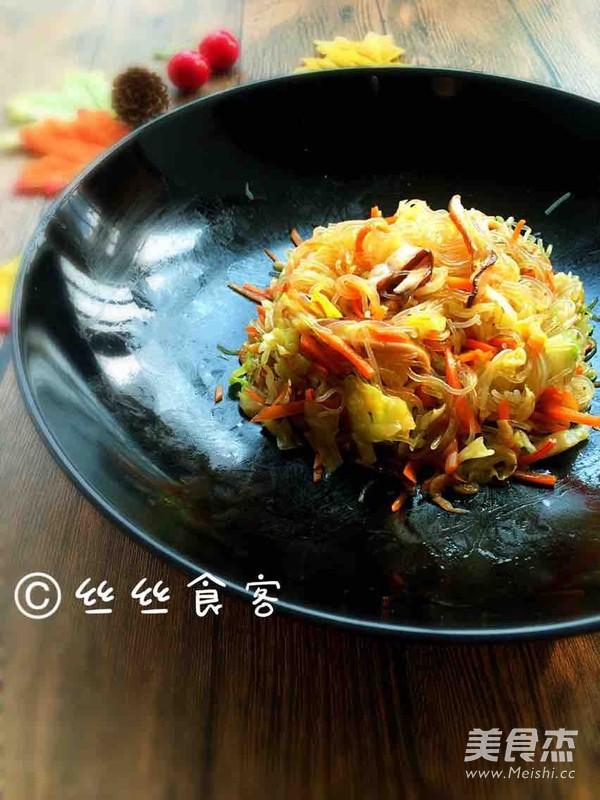 小炒粉丝圆白菜怎么煮