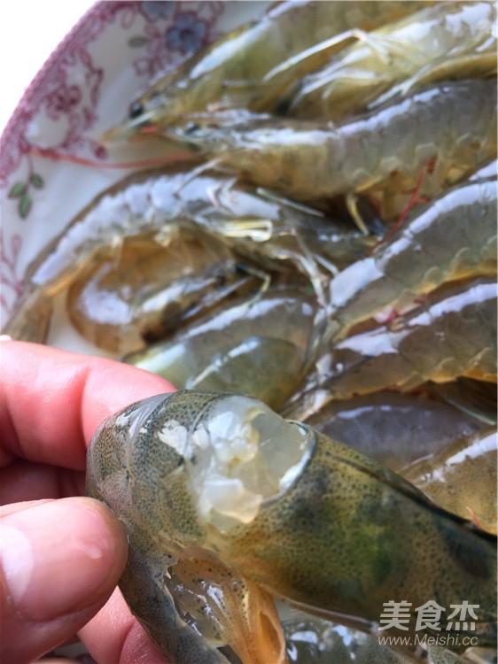 铁板基围虾的做法图解