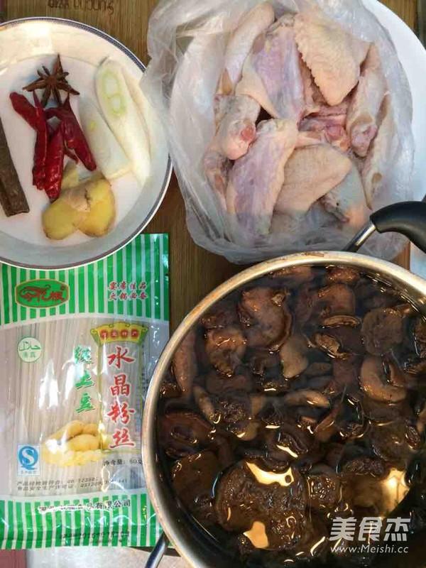松蘑炖鸡翅的做法大全