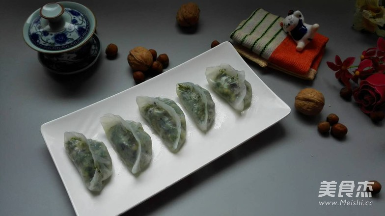 素水晶饺的步骤