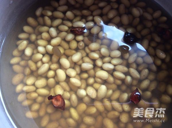 五香黄豆的步骤
