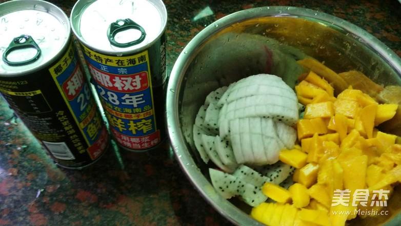 椰子汁西米露怎么吃