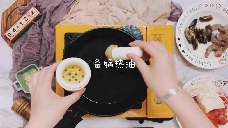 虾仁番茄豆腐汤的简单做法