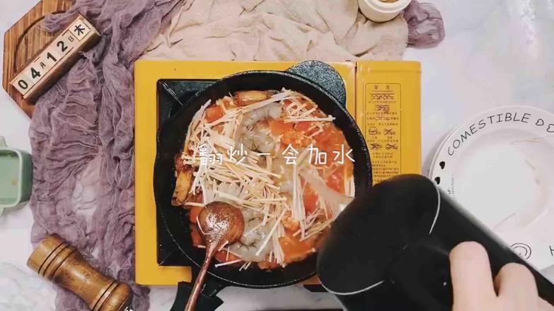 虾仁番茄豆腐汤怎么炖