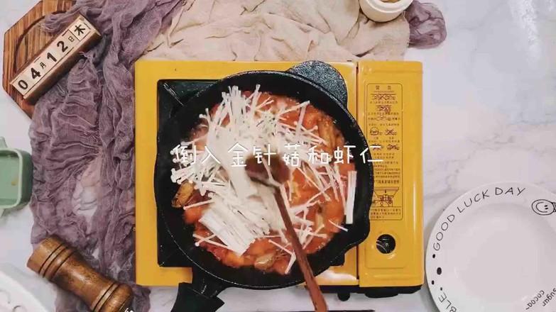 虾仁番茄豆腐汤怎么煮