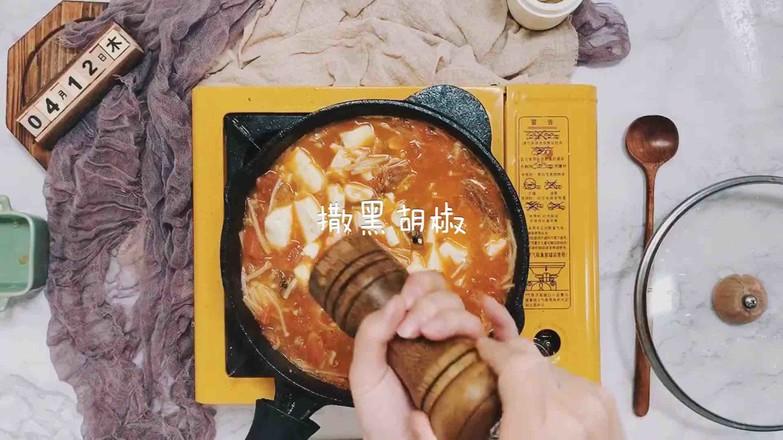 虾仁番茄豆腐汤怎样炒