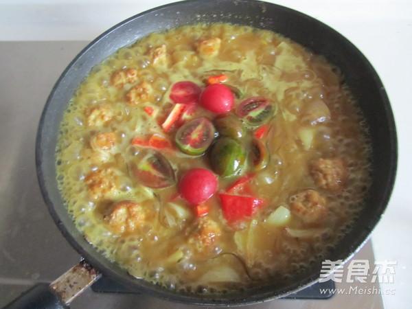 咖喱丸子粉丝煲怎么煮