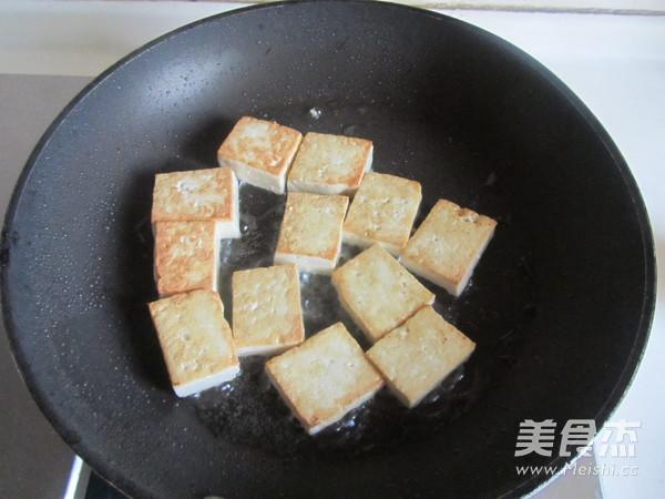 雪菜肉末烧豆腐的做法图解