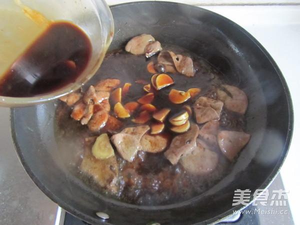 蚝油猪肝菠菜怎么煸