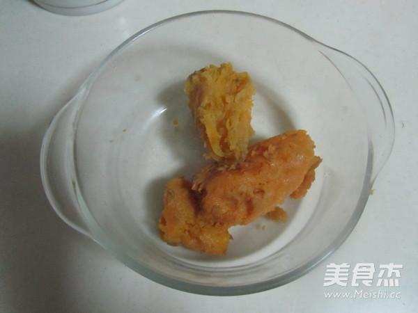 芝麻红薯豆沙饼的做法图解