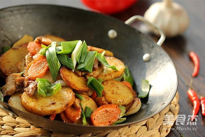 干锅土豆片怎样做