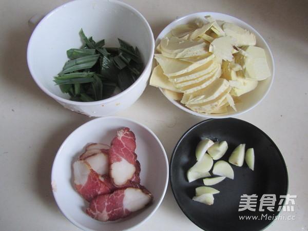 腊肉炒冬笋的做法大全