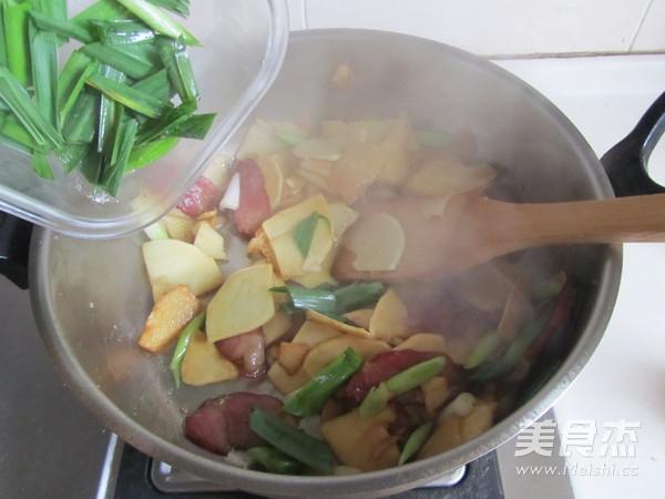 腊肉炒冬笋怎么煮