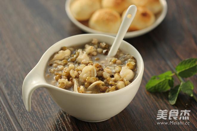 绿豆薏米百合羹怎么做