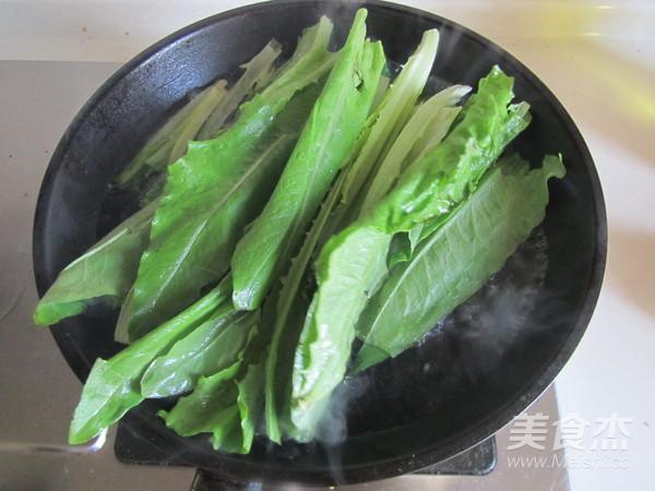 蚝油油麦菜的简单做法