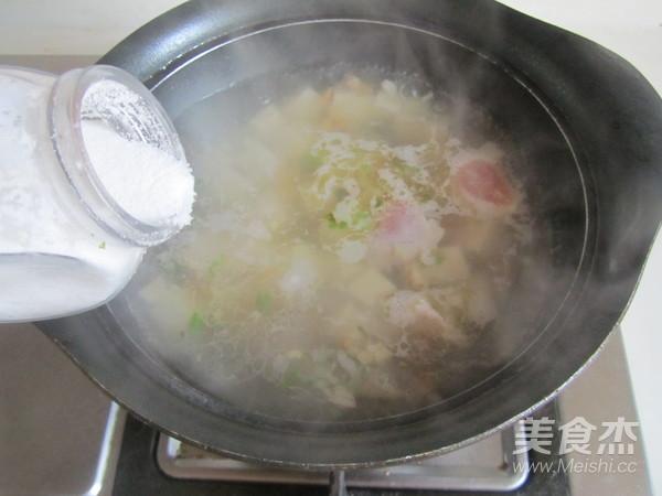 豆腐豆苗肉片汤怎么煮