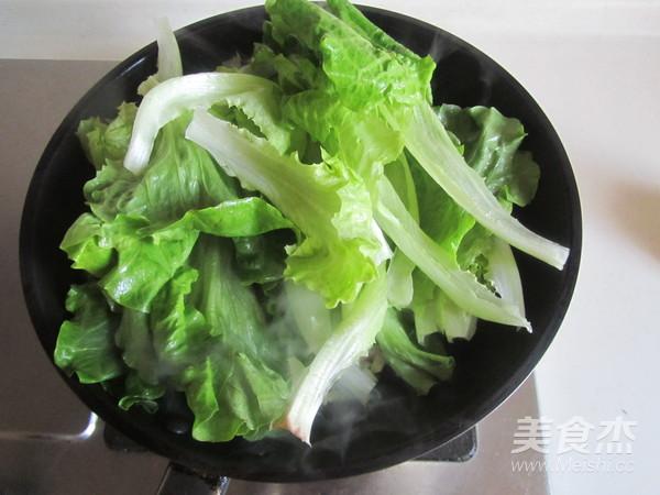 蒜蓉炒生菜的简单做法