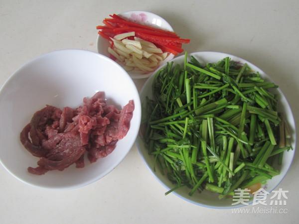 水芹菜炒牛肉丝的做法大全