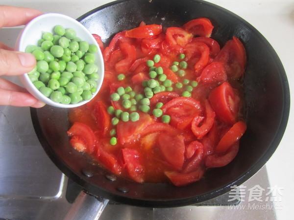 青豆番茄炒鸡蛋怎么炒