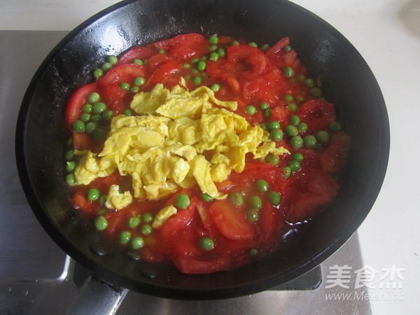 青豆番茄炒鸡蛋怎么煮