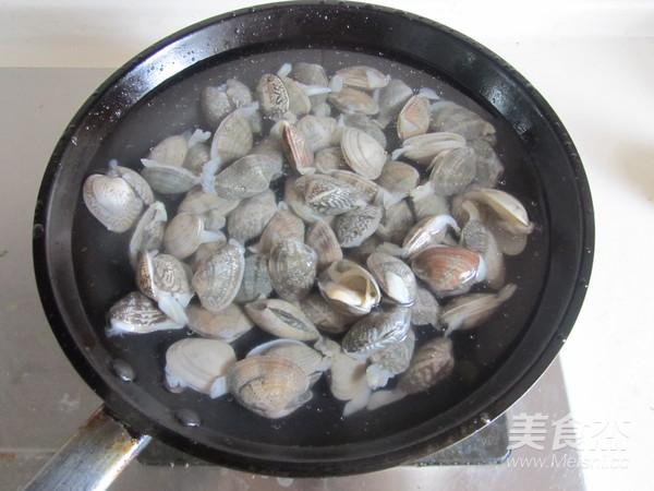 蛤蜊炒瓠瓜的做法图解
