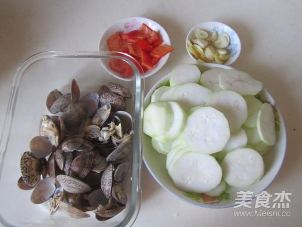 蛤蜊炒瓠瓜的家常做法