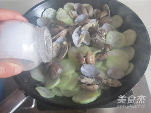 蛤蜊炒瓠瓜怎么煮