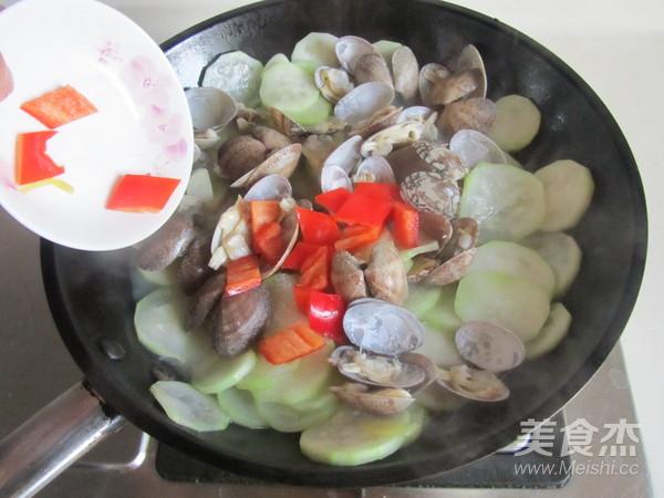 蛤蜊炒瓠瓜怎么炖