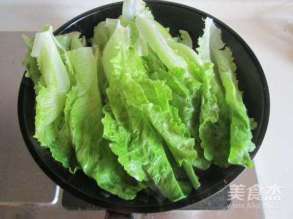 蒜蓉生菜的家常做法