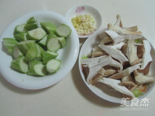 丝瓜炒猪肚菇的做法大全
