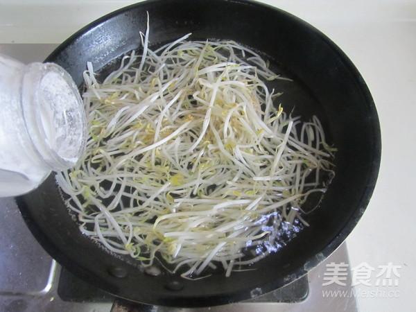 荆芥豆芽拌干丝的做法图解