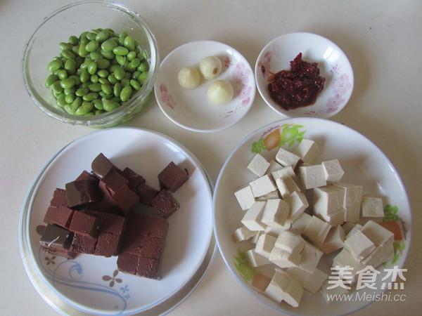 毛豆米双色豆腐的做法大全