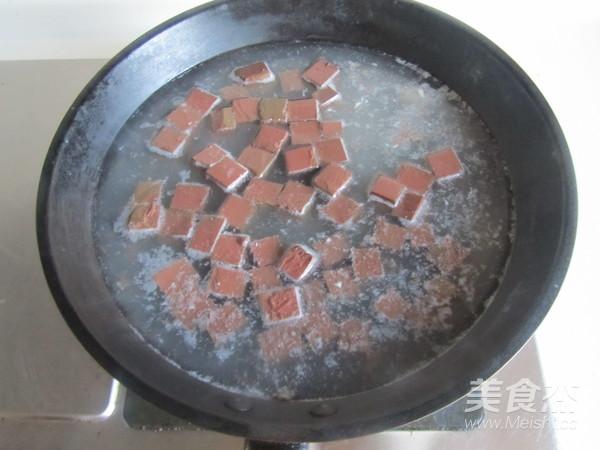 毛豆米双色豆腐的简单做法