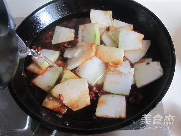 肉末冬瓜片怎么做