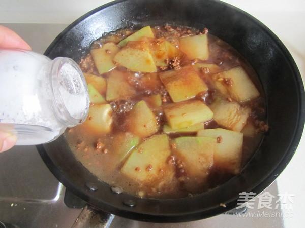 肉末冬瓜片怎么煮