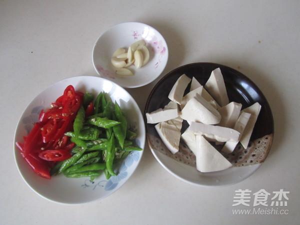 双椒炒臭豆腐的做法大全