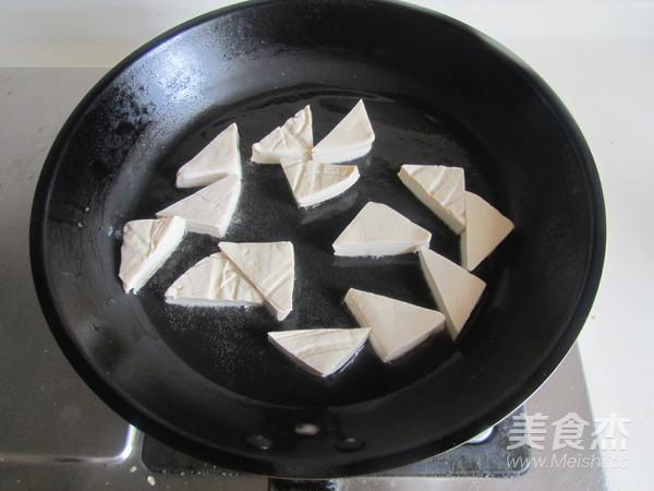 双椒炒臭豆腐的做法图解