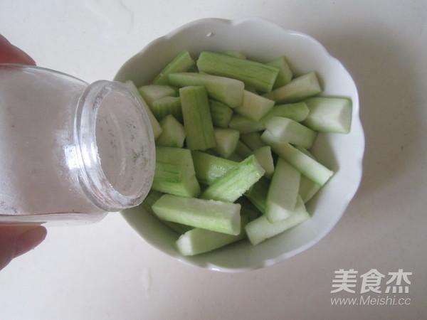 蒜蓉丝瓜条的做法图解